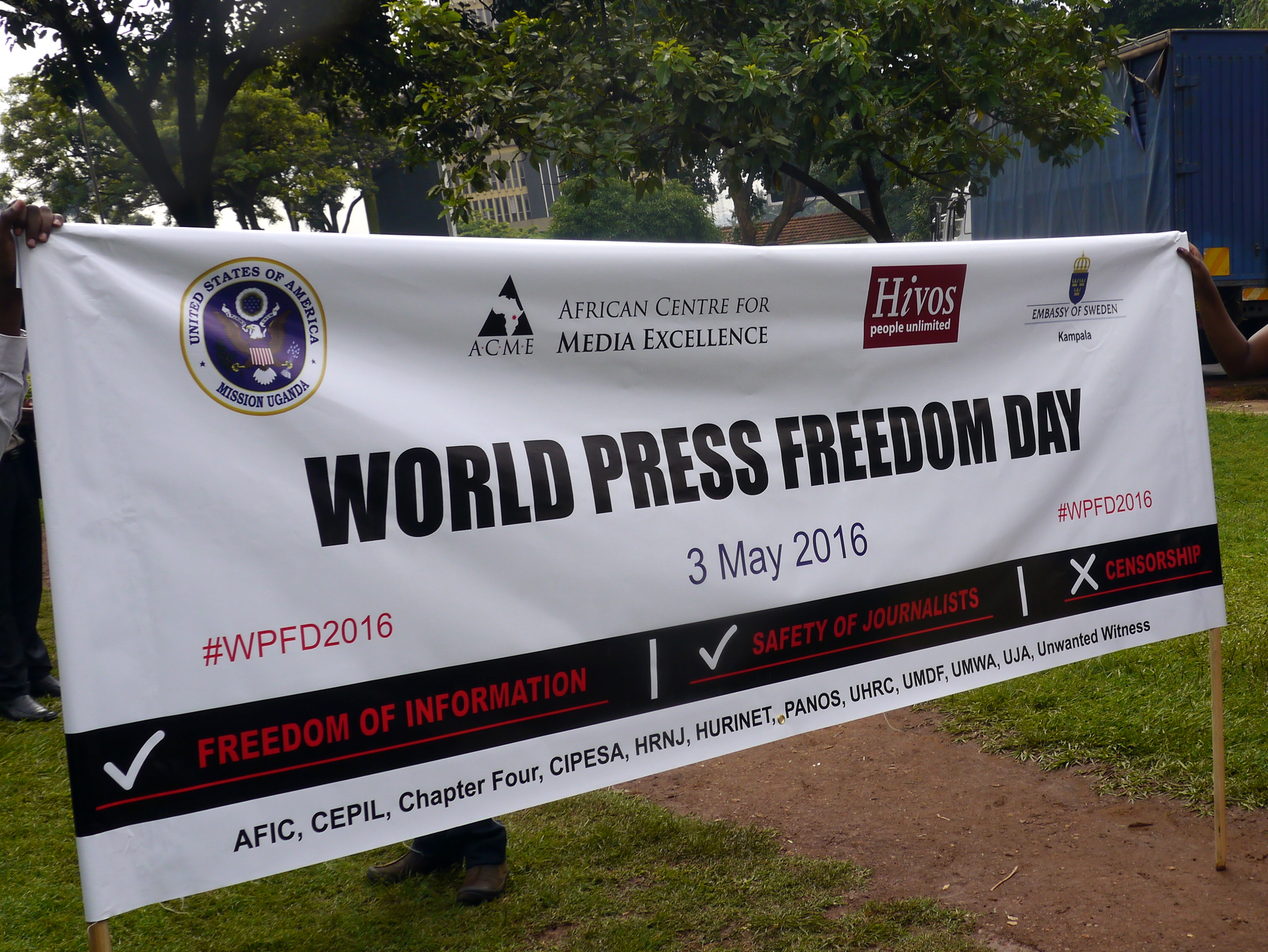 Freedom of expression advocacy