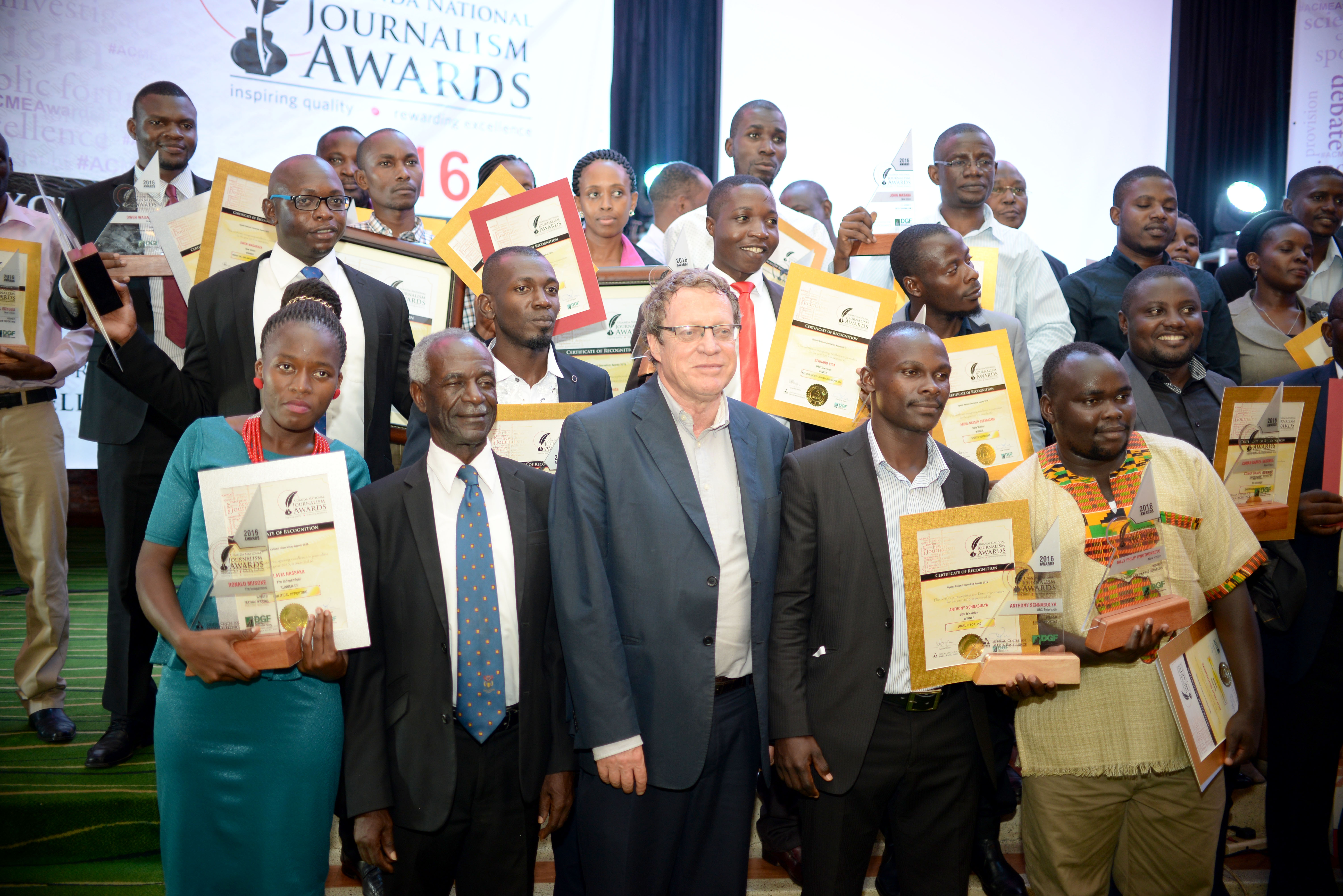 Uganda National Journalism Awards