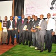 Daily Monitor journalists at the Uganda National Journalism Awards