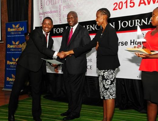 Uganda National Journalism Awards 2015 gala